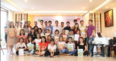 Invitation for Organization service for training in Ha Noi