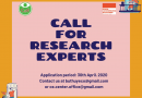 CALL FOR RESEARCH EXPERTS