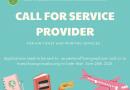 C&E – CALL FOR SERVICE PROVIDER
