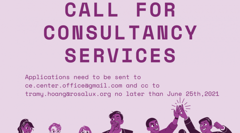 CALL FOR CONSULTANCY SERVICES TERM OF REFERENCE
